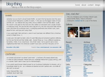 Andreas04 theme for WordPress