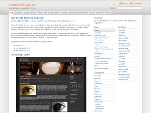 Daleri Selection theme for WordPress