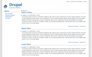 1024px theme for Drupal
