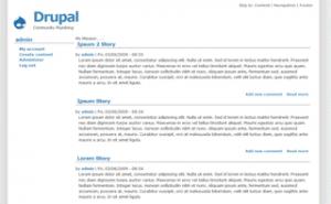 1024px theme for Drupal