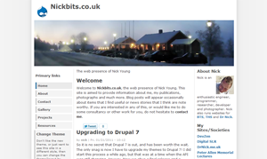 andreas00-09 theme for Drupal