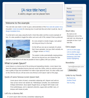 N.nu - Free website builder featuring templates from andreasviklund.com