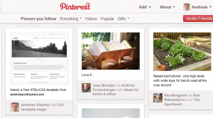 Pinning images from this site on Pinterest |