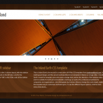 Screenshot of the Inland Earth HTML/CSS template