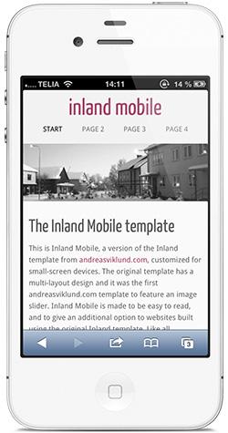 Mobile website templates | andreasviklund.com